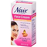 Nair Hair Remover Moisturizing Face Cream, with