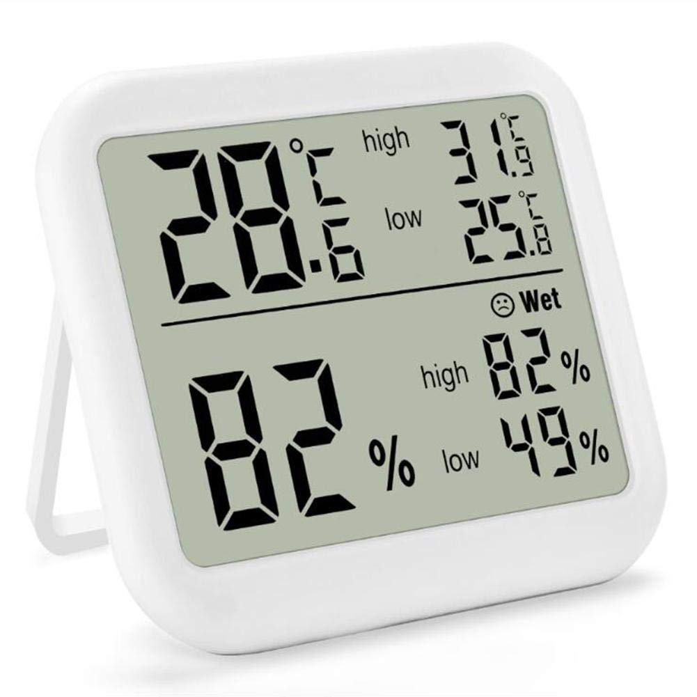 Fancystar Digital Hygrometer Indoor Thermometer Room Thermometer and Humidity Gauge with LCD Backlight by Fancystar