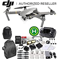 DJI Mavic Pro Platinum FLY MORE COMBO Collapsible Quadcopter Drone Ultimate Bundle
