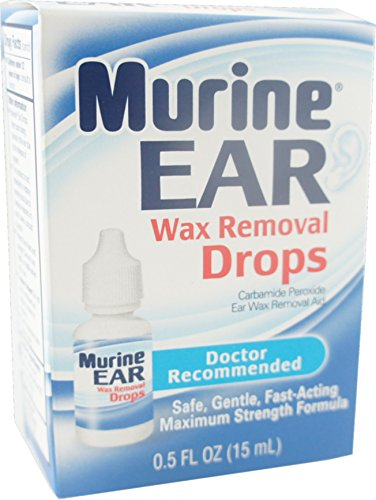 Murine Ear Wax Removal System, 0.5 Oz (Pack of 4)