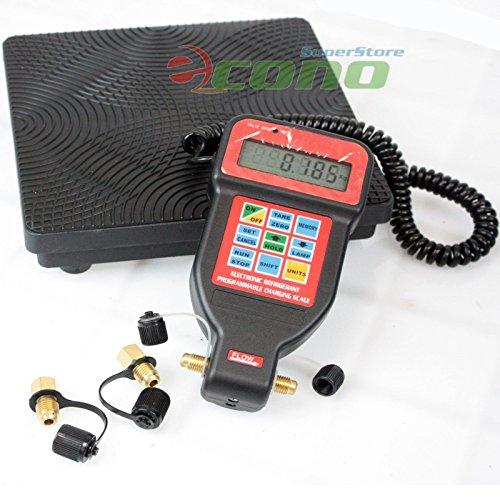 (Hvac A/c Programmable Charging Refrigerant Digital Scale R22 R12 R404a R134a)