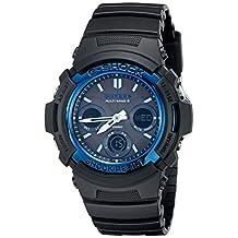 Casio Men's AWG-M100-1ACR Solar Analog-Digital Display Watch