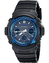 G-Shock AWGM100A-1A Men's Tough Solar Black Resin Sport Watch
