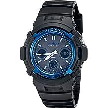d8672ddc64f Casio Men s G-Shock AWGM100A-1A Tough Solar Black Resin Sport Watch