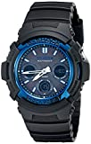 Casio G-Shock AWGM100A-1A Men's Tough Solar Black Resin Sport Watch