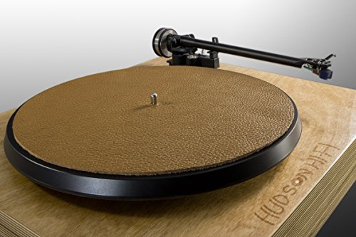 Premium Swiss Leather Turntable Mat | Sandstone | Slipmat Made in ()