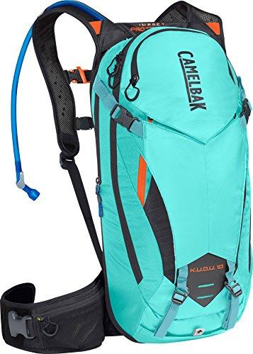 CamelBak K.U.D.U. Protector 10 100 oz Hydration Pack, Medium/Large, Lake Blue/Laser Orange