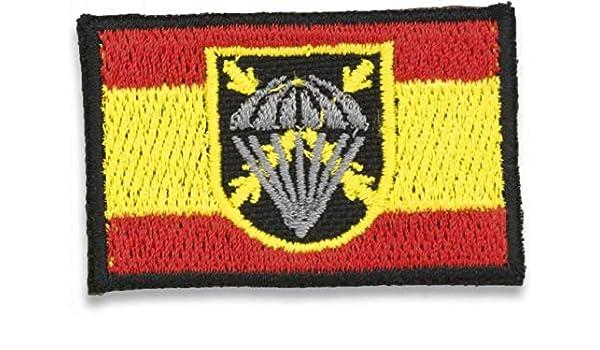 Martinez Albainox Bandera España Bordada con Logo Bripac: Amazon.es: Ropa y accesorios