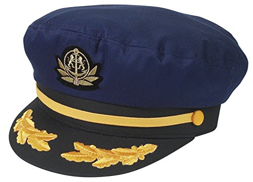 Broner Original Flag Ship Yacht Cap. One Size Fits Most (Navy)]()