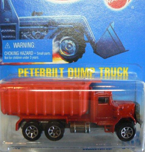 Hot Wheels Collector No.100 7 Spoke Peterbilt Dump Truck on Blue to White Card
