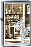 Zippo High Polish Chrome Vintage Windproof Lighter