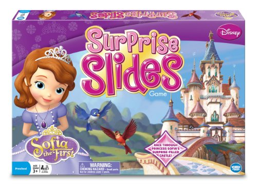 Princess Sofia Surprise Slides Board Game (Pretty Pretty Princess Board Game For Sale)