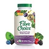 Fibre Choice, Assorted Fruits Gluten Free Natural Sourced Prebiotic Fibre by IM HealthScience