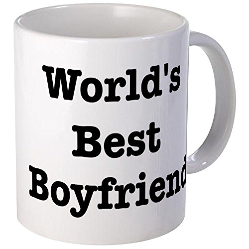 CafePress Worlds Boyfriend Unique Coffee