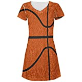 Basketball Costume All Over Juniors Beach Cover-Up Dress Multi MD