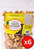 Organic Dried Pineapple, 6 Pack of 8 Ounce Bags