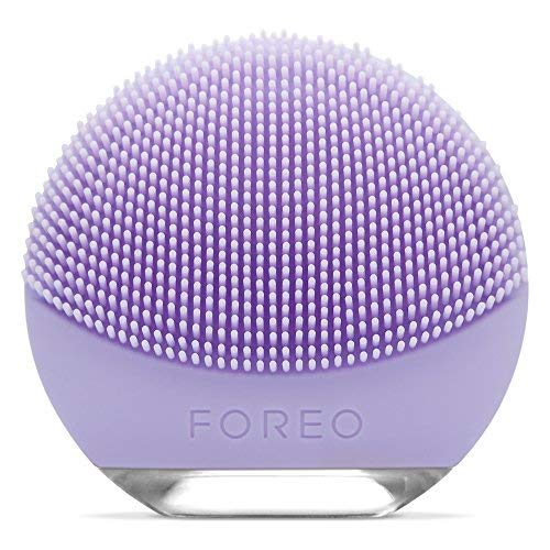 FOREO LUNA go Portable and Personalized Facial Cleansing Brush for Sensitive Skin