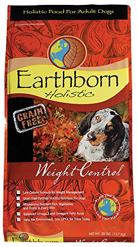 Earthborn Holistic Weight Control Grain Free Dry Dog Food, 28 lb.