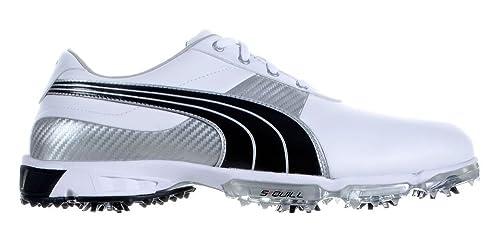 fb2d8e0aa1df Puma Spark Sport 2 Golf Shoe White   Black   Pu   Amazon.co.uk  Shoes   Bags