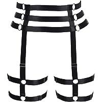 PETMHS Women's Body Harness Garter Lingerie cage Punk Gothic Leg Strap Waist Belt Plus Size Festival Rave