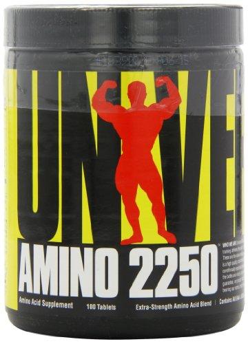 (Universal Nutrition Amino 2250, 100 Tablets)