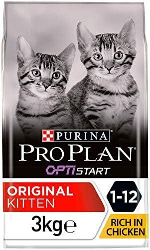 Purina Pro Plan Gato Kitten con Optistart Pollo 3 kg: Amazon.es: Productos para mascotas