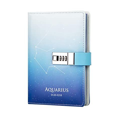 Amazon.com: Lock Journal 12 - Agenda de piel, diseño de ...
