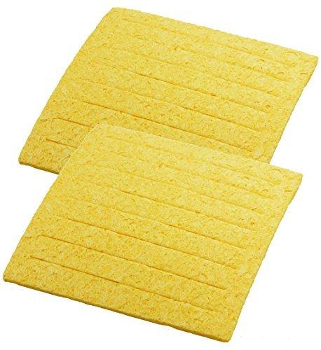 Weller TC205 ( PACK OF 2) Solder Tip Cleaning Sponge with Slits, 2-5/8