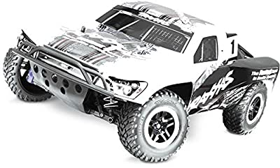 Traxxas Tra68077-24 Slash 4X4 Ultimate, 1/10 S.C Truck Rtr, W/ Tsm And Oba Truck