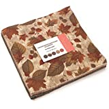 """Endangered Sanctuary Flannels Layer Cake, 42 - 10"""" Precut Fabric Quilt Squares By Holly Taylor"""