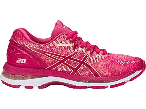 competitive price f4318 bf4a9 ASICS Women s Gel Nimbus 20 Running Shoes, Black White Carbon, 12 Medium  Medium Medium US Parent B072369CX4 4751ec