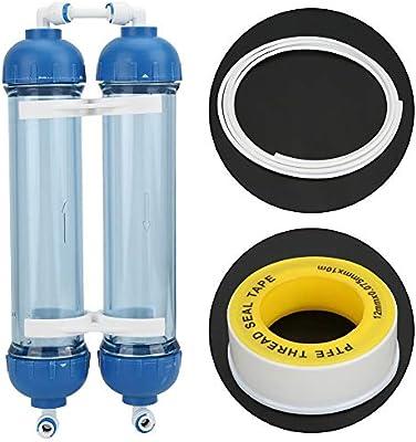 Combort 3.3 Metros Purificador de Agua Tubo Manguera de Agua Montaje rápido con RO 1/4 Kit de Carcasa del Filtro Accesorios Reemplazo del Filtro de Agua: Amazon.es: Hogar