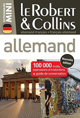 Download Le Robert & Collins Dictionnaire mini allemand - francais / francais - allemand (French & German) (French Edition) pdf