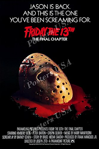 Posters USA Friday the 13th The Final Chapter GLOSSY FINISH