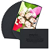 4x6 picture frames - UnityStar 30-Pack Magnetic Picture Frames for Refrigerator,Holds 4x6 Inch Photos,Black
