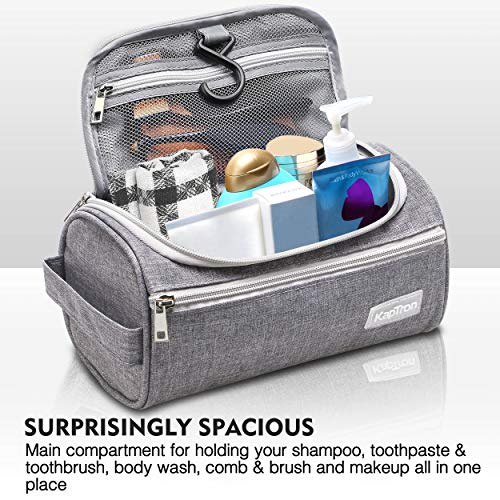 Travel Bag Small Portable Organizer for Men Women | Makeup, Clippers Grooming Tools | | Bathroom, Shower, Gym