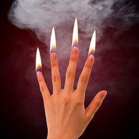 Amazon | 【手品 マジック】フィンガーファイヤー 指先が燃える 4つ指 ...