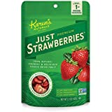 Karen's Naturals Just Strawberries, 1.5 Ounce Pouch (Packaging May Vary) All Natural Freeze-Dried Fruits & Vegetables, No Additives or Preservatives, Non-GMO