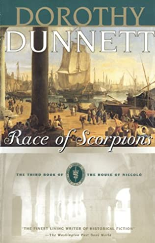 book cover of Race of Scorpions
