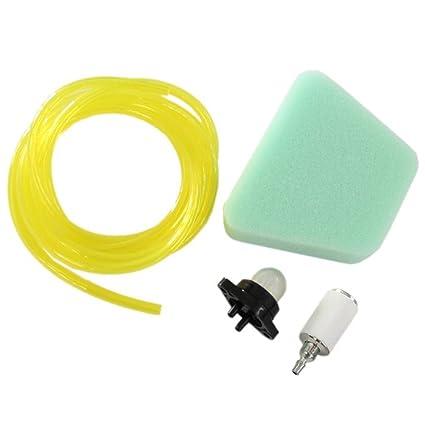 Amazon Com Huri Air Filter 4feet Fuel Line Primer Bulb For Poulan