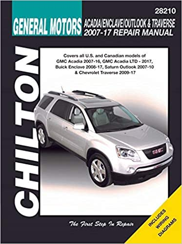 GMC Acadia, Buick Enclave, Saturn Outlook & Chevy Traverse