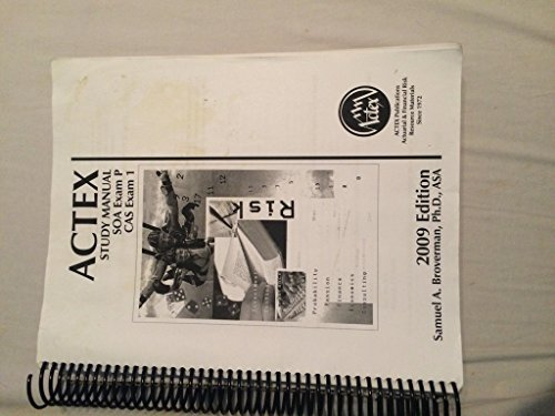 SOA Exam P, CAS Exam 1 - 2009 Edition ()