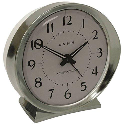rtz Analog White Face Big Ben Alarm Clock ()