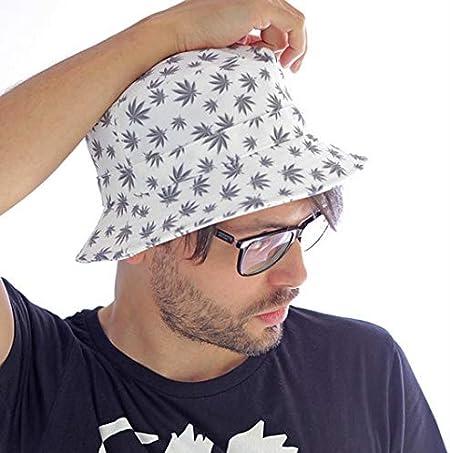 ATLANTIS Miami Leaves Cappello Pescatore Berretto Cotone Fibbia Metallo Baseball cap