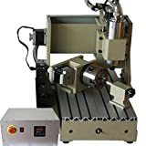 CNCEST 4Axis 800W 110V CNC 3020T Router Engraver/Engraving Drilling and Milling Machine-US stock