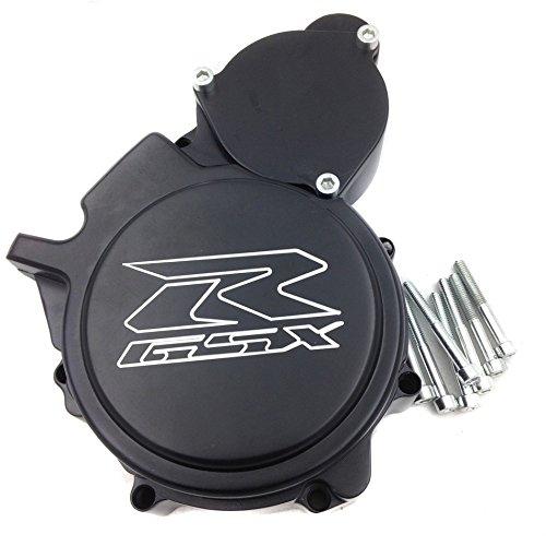 htt- Custom Made Motor estator Cubierta para Suzuki GSXR 600/750 2006 –  2016 negro lado izquierdo TTMT