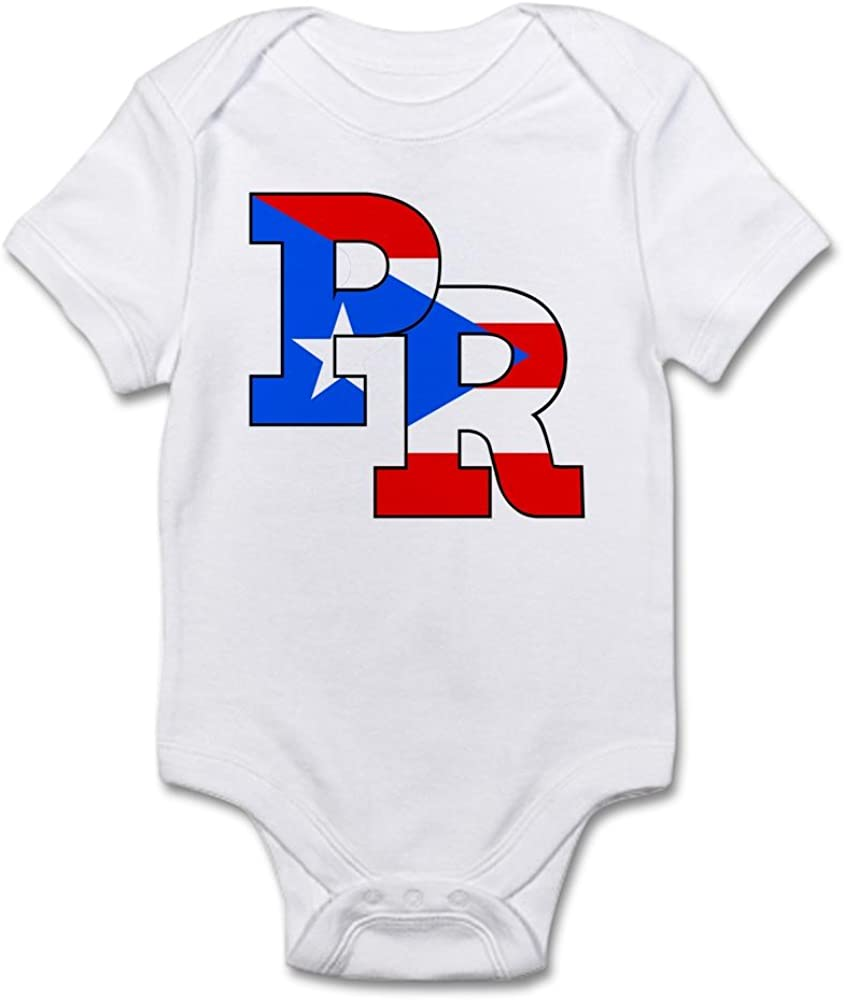 Colorful Puerto Rico Skull Newborn Baby Short Sleeve Romper Infant Summer Clothing