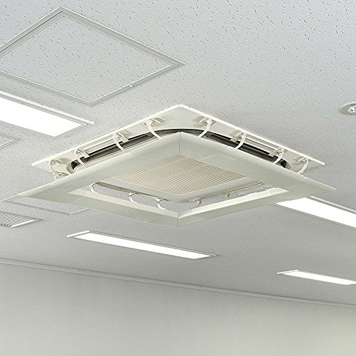 Air Wing Square (4-side) The Original Air Conditioner Deflector, eliminate all comfortable direct wind. For all types of air conditioners. by Air Wing