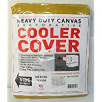 62W x 62D x 62H Side Draft Heavy Duty Canvas Cover for Evaporative Swamp Cooler (62 x 62 x 62)