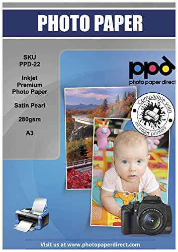 PPD Inkjet Satin Luster Super Premium Photo Paper 11X17